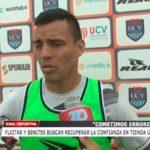 Fleitas y Benites buscan la confianza en tienda UCV