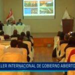 Taller internacional de Gobierno abierto en Trujillo
