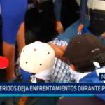 Nicaragua: Dos heridos deja enfrentamiento durante protesta