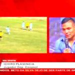 Entrevista a Ichiro Plasencia delantero del club Deportivo Coopsol