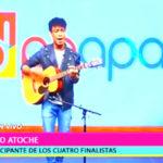 Jeyko Atoche ex participante del reality de canto Los Cuatro Finalistas