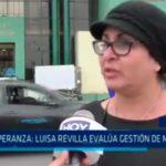 La Esperanza: Luisa Revilla evalúa gestión de Marcelo