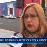 La Libertad: GRELL no repone a profesora pese a mandato judicial