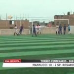 Sub 15: Mannucci derrotó 10 – 2 a Sport Rosario