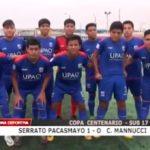 Serrato Pacasmayo ganó 1 – 0 a Carlos Mannucci