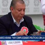 """Marco Arana: """"Hay complicidades políticas con la corrupción"""""""