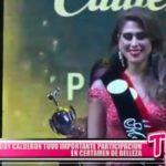 Melody Calderon tuvo importante participación en certamen de belleza