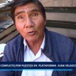 Piura: Conflicto por puestos en  plataforma  Juan Velasco  Alvarado