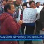 Empresa informal Nuevo Cortijo exige permiso circulación
