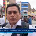 La Libertad: ONPE de Trujillo capacita al 20% de miembros de mesa