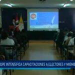 ODPE intensifica capacitaciones a electores y miembros de mesa