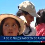 La Libertad: 4 de 10 niños padecen de anemia