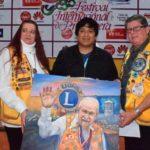 Premiación de concurso de pintura y fotografía