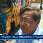 Ex Presidente del CNM reaparece y jura inocencia