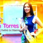 Invitación de Karla Torres reina del 68° Festival Internacional de primavera