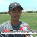 Tajima solo piensa en el triunfo ante Cienciano