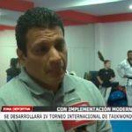 Se desarrollará IV Torneo Internacional de Taekwondo