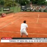 Torneo ITF será del 24 al 29 de setiembre