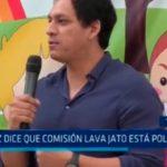 Valdez dice que comisión lava jato está politizada