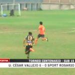 Torneo Centenario: UCV venció a Sport Rosario por 6 a 0