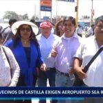 Piura: Vecinos de Castilla exigen aeropuerto sea reubicado