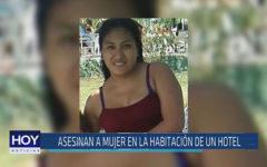 Chiclayo: Asesinan a mujer en la habitación de un hotel