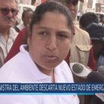 Chiclayo: Ministra del ambiente descarta nuevo estado de emergencia en JLO