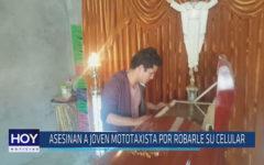 Chiclayo: Asesinan a joven mototaxista por robarle su celular