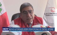 Chiclayo: Nuevas autoridades deben crear oficinas de control interno