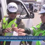 Chiclayo: Intensifican campañas para que se respete el asiento reservado