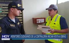 Chiclayo: Monitores ciudadanos de la contraloría inician visita a obras