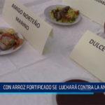 Chiclayo: Con arroz fortificado se luchará contra la anemia