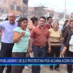 Chiclayo: Pobladores de JLO protestan por acumulación  de basura