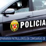 Chiclayo: Reparan patrulleros en comisarías de la región