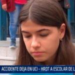 Accidente deja en UCI  – HRDT a escolar de Liceo Trujillo