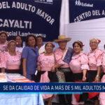 Chiclayo: Se da calidad de vida a más de 5 mil adultos mayores