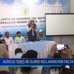Chiclayo: Agricultores de Olmos reclaman por falta de agua
