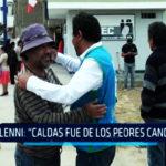 """Chimbote: Glenni: """"Caldas fue de los peores candidatos"""""""