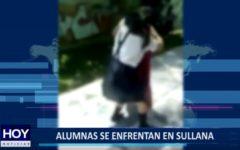 Piura: Alumnas se enfrentan en vía pública