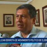 Analizan derrota de Movimiento Político de Elidio Espinoza