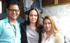 Angelina Jolie se reunió con el presidente Vizcarra