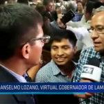 Chiclayo: Anselmo Lozano, virtual gobernador regional de Lambayeque