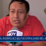Paúl Rodríguez no fue expulsado del APRA