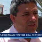 Arturo Fernández virtual alcalde de Moche por APP