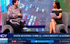 Beatriz Merino: Visión Moderna sobre el conocimiento académico