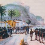 Brasil y Argentina en guerra por la posesión de la Banda Oriental