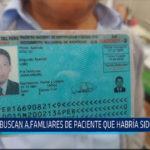 Chiclayo: Buscan familiares de paciente que habría sido dopado