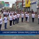 """Chiclayo: Lanzan campaña """"Semana Perú contra el cáncer"""""""