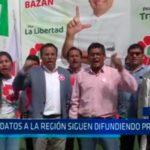 Candidatos a la región siguen difundiendo propuestas