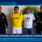 Capturan a presuntos asesinos de chofer de microbús